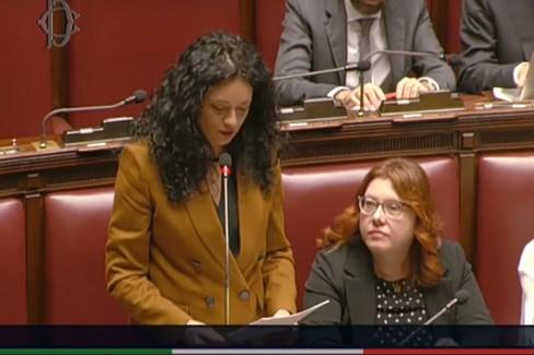 Francesca Galizia - Interpellanza su sostanze chimiche pericolose nei pannolini monouso