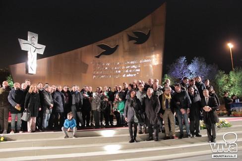 Inaugurato l'anfiteatro dedicato a Don Tonino alla presenza del Cardinale Amato
