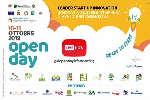 La seconda Giornata del GAL Open Day in diretta da Trani