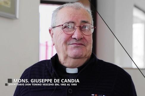 Don Giuseppe de Candia, padre spirituale dei Molfettesi nel Mondo, su Don Tonino Bello