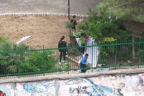 parco ponente vandali