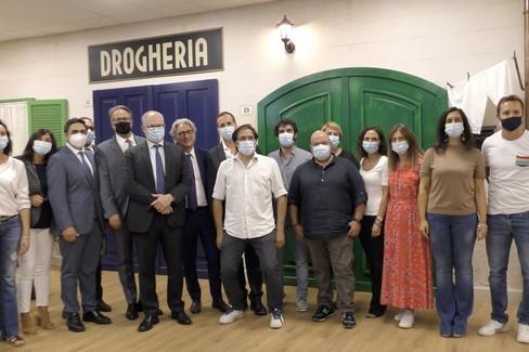 Il Ministro Gualtieri al Network Contacts di Molfetta: «La Puglia al centro del rilancio del paese»