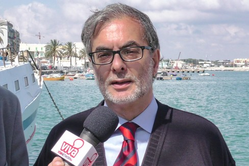 Tommaso Minervini parla del porto di Molfetta