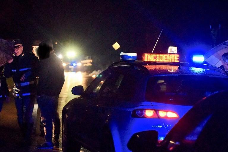 L'incidente stradale avvenuto sulla litoranea Molfetta-Giovinazzo