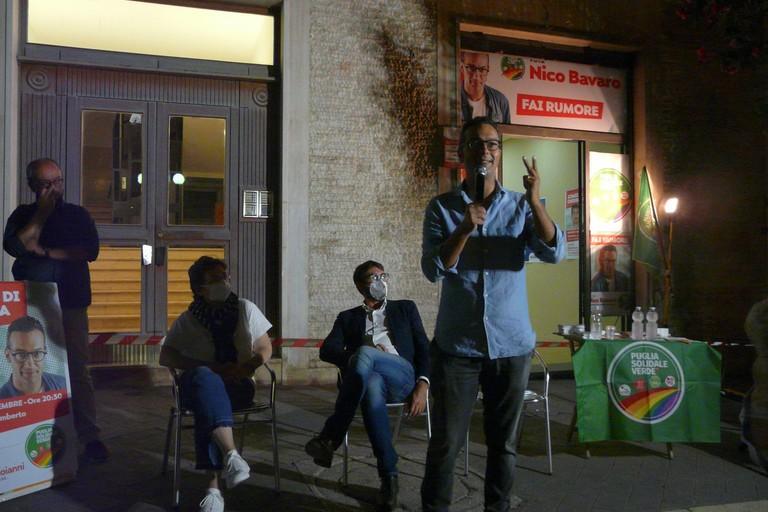 Nico Bavaro chiusura campagna elettorale JPG