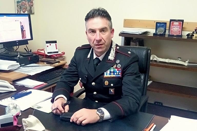 Il sottotenente Domenico Mastromauro