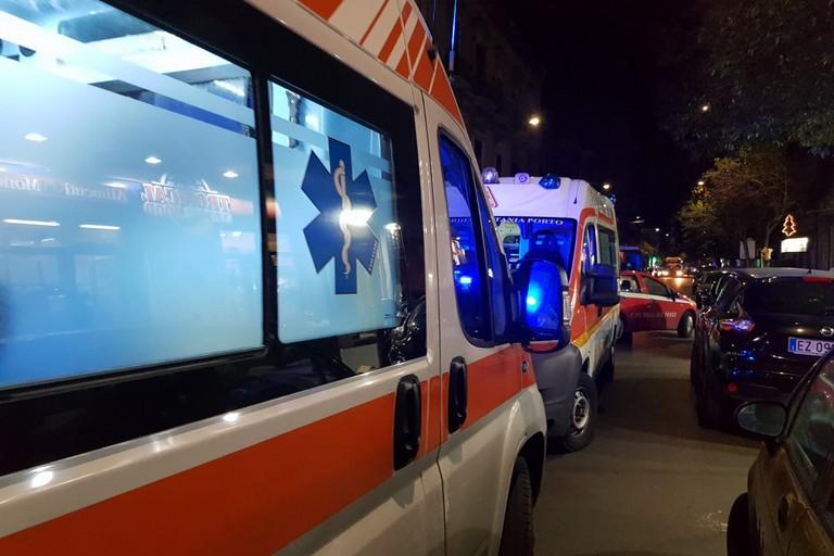 Le ambulanze del 118