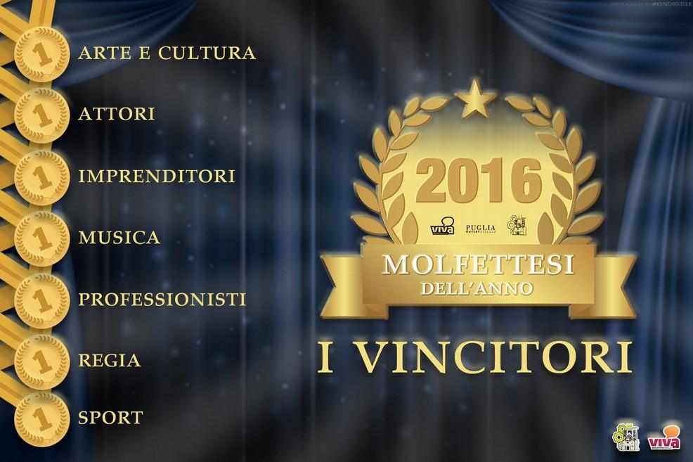 Molfettesi dell'anno: i vincitori. <span>Foto Vincenzo Bisceglie</span>