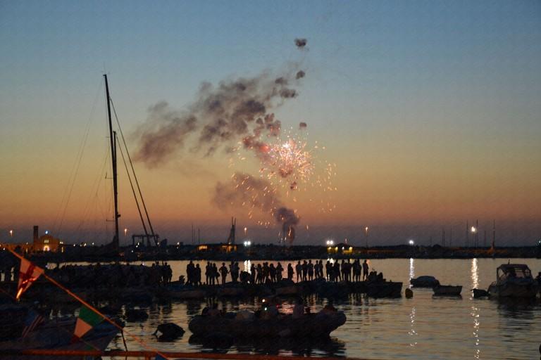 L'arrivo dal mare della Sacra Icona. <span>Foto Alfonso Bisceglie</span>