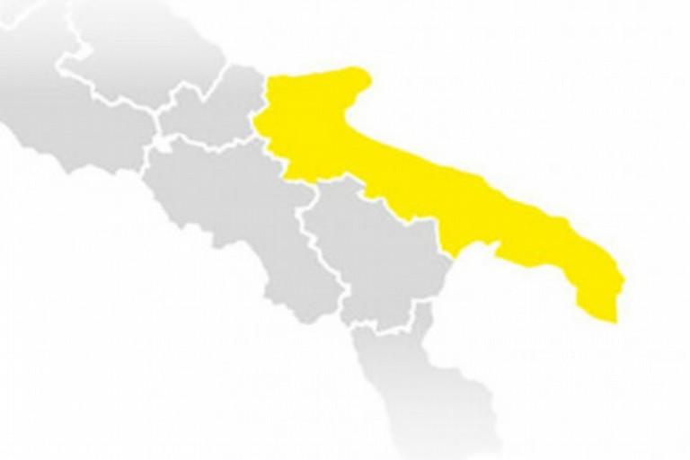 Zona gialla Puglia