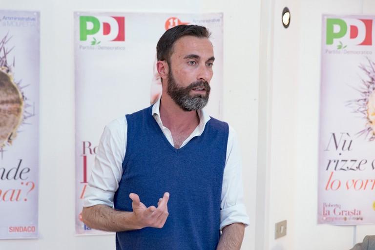 Roberto la Grasta: «il nostro è un progetto rivoluzionario misto di civismo e partitico»