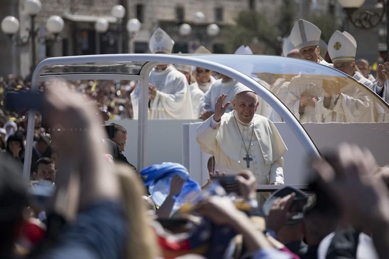 Papa Francesco. <span>Foto Vincenzo Bisceglie</span>