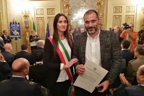 Sara Allegretta e Vincenzo Carnicella