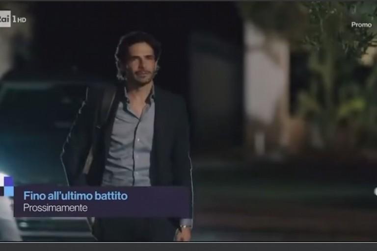 Marco Bocci in una scena del film. <span>Foto RAI</span>