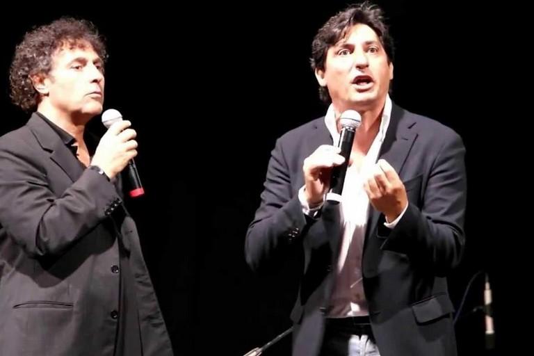 """""""il Cotto e il Crudo"""": a Molfetta lo spettacolo di Emilio Solfrizzi e Antonio Stornaiolo"""