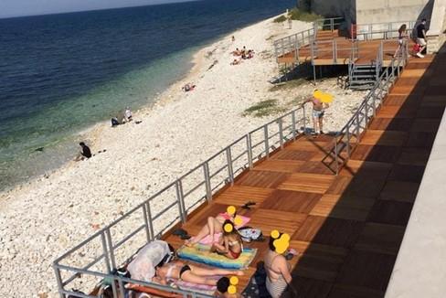 spiaggia la bussola. <span>Foto Mariano Caputo</span>