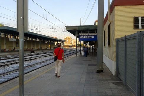 La stazione di Molfetta
