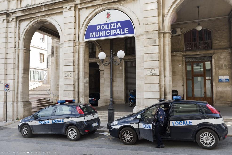 Comando Polizia municipale - Molfetta. <span>Foto Vincenzo Bisceglie</span>