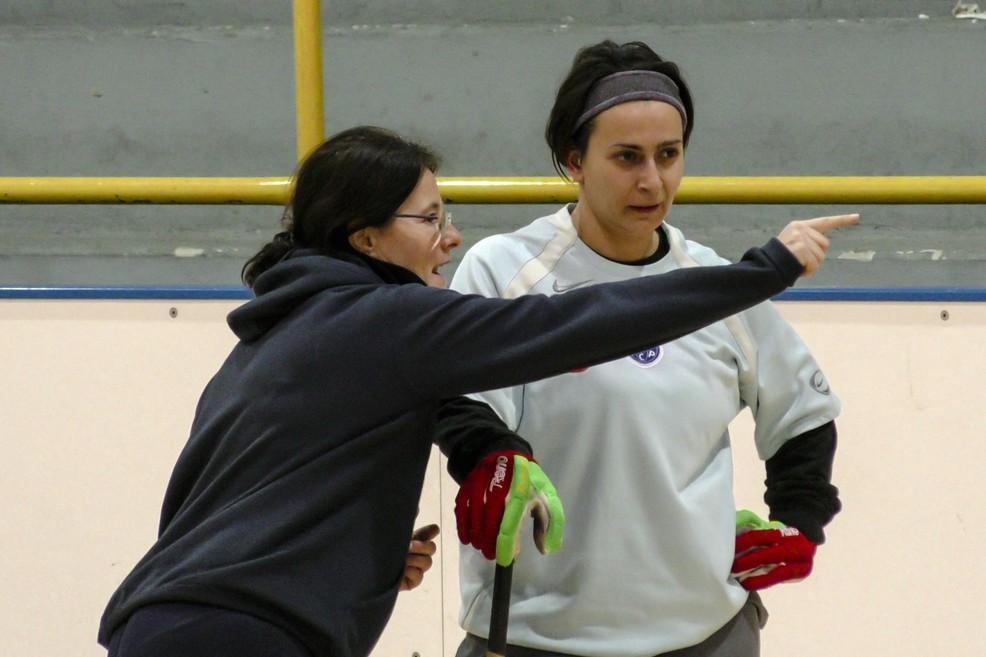 Giovanna Maurantonio e Gina Martino. <span>Foto Vincenzo Bisceglie</span>