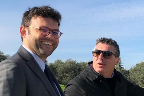 Leo Binetti e Pietro Mastropasqua