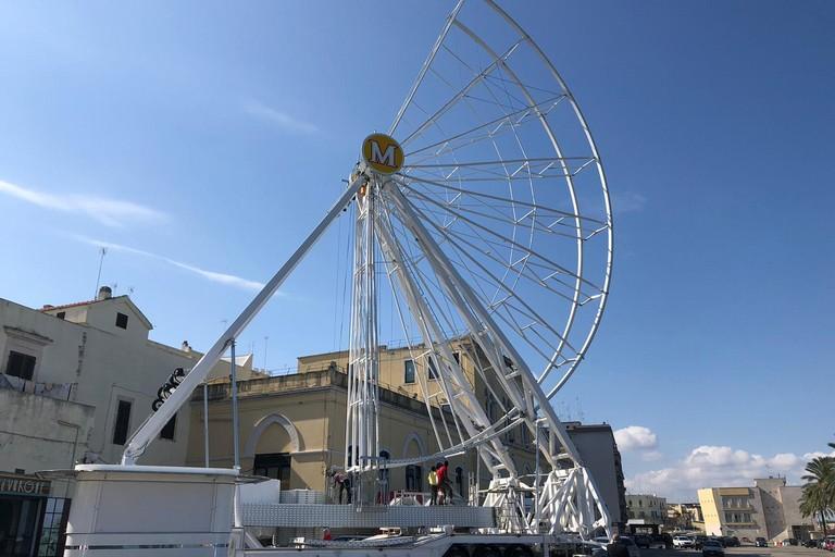 Dopo due mesi, Molfetta saluta la sua ruota panoramica