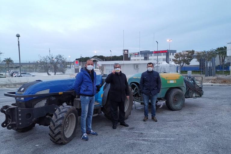 Sanificazione trattori