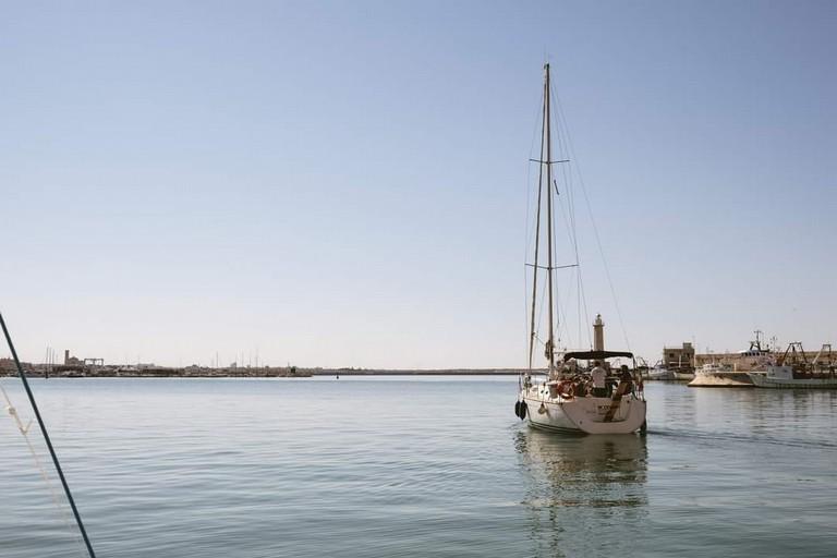 Mare porto Molfetta